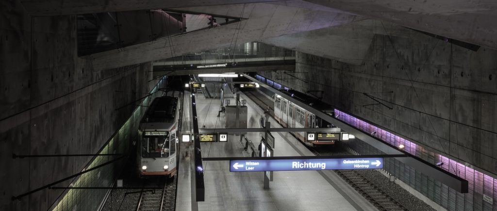 U-Bahnhaltestelle Bochum Rathaus