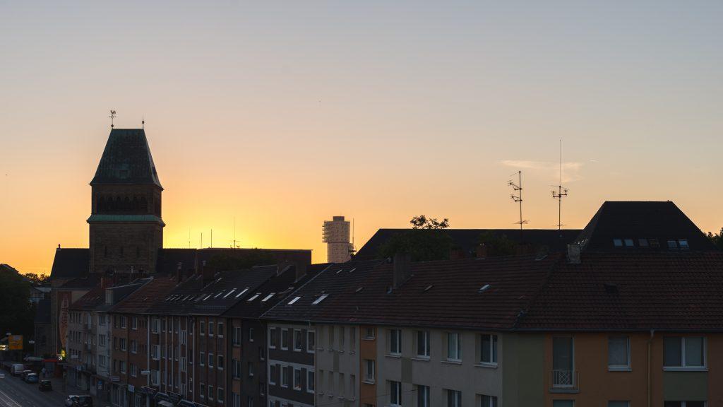 Sonnenaufgang vom 18. August 2016