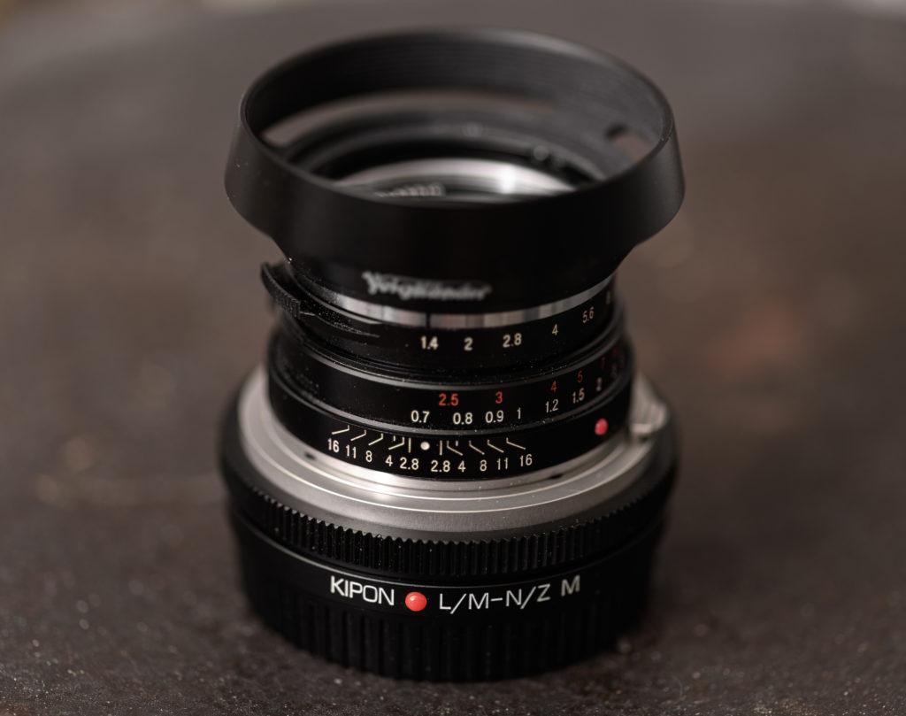Kipon Helicoid Leica-M an Nikon-Z Adapter